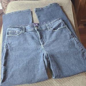 NYDJ High Waist Boot Cut Jeans